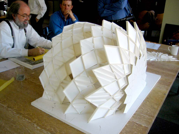 Model of the Orchestra Shell