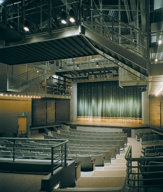 Photo of Catalina High School proscenium theater