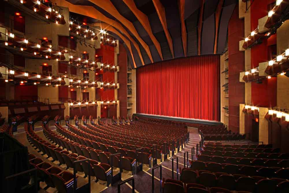 Hylton Performing Arts Center 1300-seat Merchant Hall.