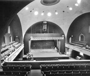 Photo of Mitchell Hall before renovation