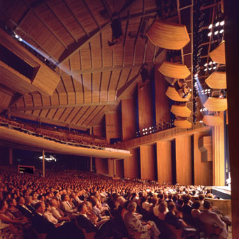 Photo of audience at Filene Center II - Wolf Trap Farm Park   for the Performing Arts
