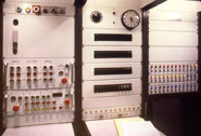 Photo of electrical controls